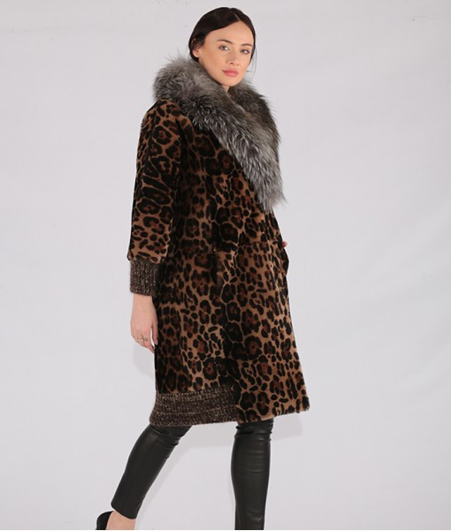 Lambskin Shearling Coat