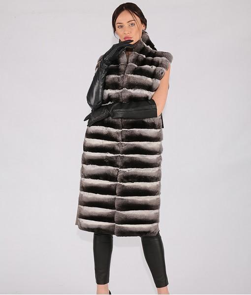 Luxury Cashmere Long Vest
