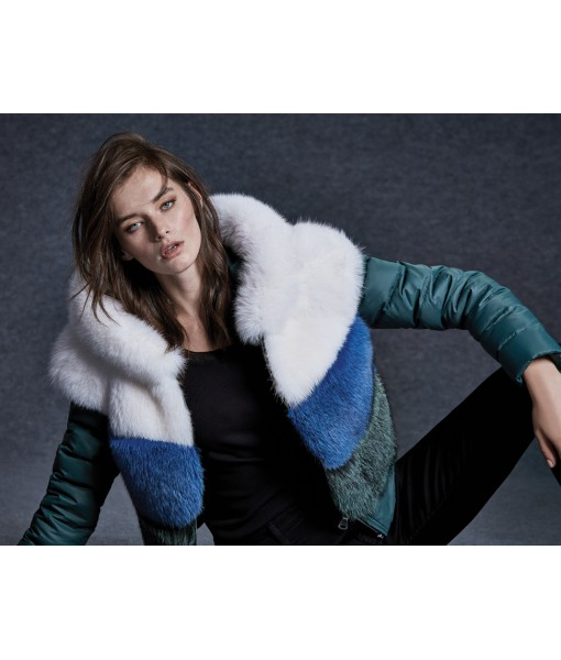 Multicolour Fox Jacket