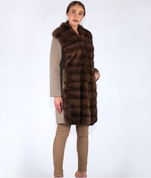 Sable Front Coat