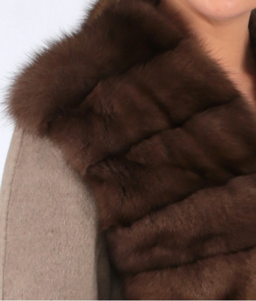 Sable Front Coat