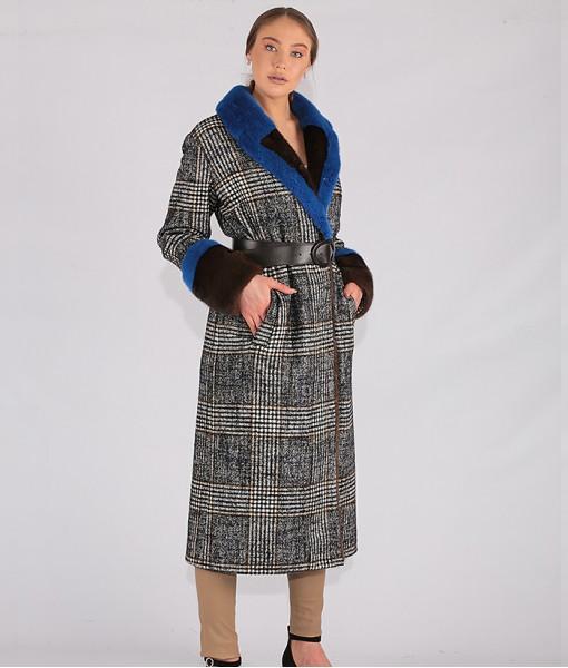 Italian Fabric Long Coat