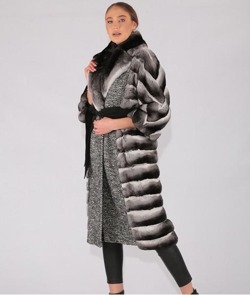 Chinchilla Long Coat